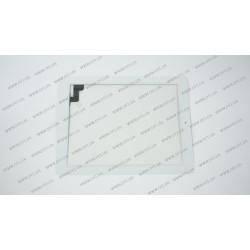 Тачскрин (сенсорное стекло) для Apple iPad 2, 9.7, белый, ORIGINAL (with IC Flex Connector, Home Button and Home Flex)