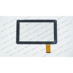 Тачскрин (сенсорное стекло) FHF090004, 9, внешний размер 232*141 мм, рабочий размер 197*111 мм, 50pin, черный