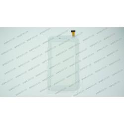 Тачскрин (сенсорное стекло) YLD-CCG7052-FPC-A0 (ВЕРСИЯ 2, сильно закругленны углы), 7, внешний размер 188*104 мм, рабочий размер 155*86 мм, 30pin, белый