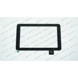 Тачскрин (сенсорное стекло) 0176-BLX, 9, внешний размер 235*144 мм, рабочий размер 198*115 мм, 50 pin, черный