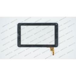Тачскрин (сенсорное стекло) FM700402TC, 7, размер 186*111мм, 12pin, черный