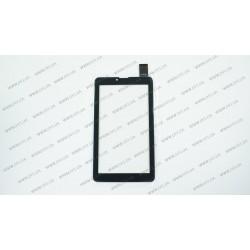 Тачскрин (сенсорное стекло) VTC5070A85-FPC-3.0, 7, внешний размер 185*104 мм, рабочий размер 155*87 мм, чёрный