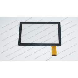 Тачскрин (сенсорное стекло) CTP-016A, 7, внешний размер 173*105 мм, рабочая часть 154*86 мм, 36pin, черный