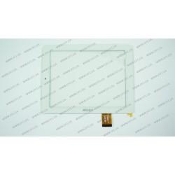 Тачскрин (сенсорное стекло) 300-L4315D-A00-V1.0, 8, внешний размер 196*148 мм, рабочий размер 162*122 мм, белый
