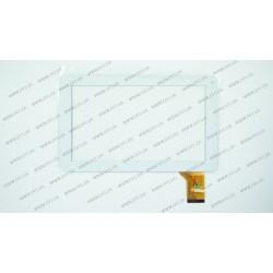 Тачскрин (сенсорное стекло) FM901601KE, 9, внешний размер 233*142 мм, рабочая часть 198*112 мм, 50 pin, белый