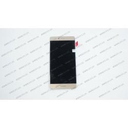 Модуль матрица+тачскрин для Huawei P9, golden