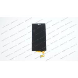 Модуль матрица+тачскрин для Huawei P8, black