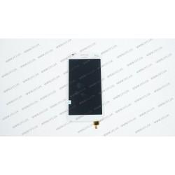 Модуль матрица+тачскрин для Huawei G7, white