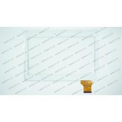 Тачскрин (сенсорное стекло) VTC5010A28-FPC-1.0, 10,1, внешний размер 240*163 мм, рабочая часть 224*127 мм, 50 pin, белый