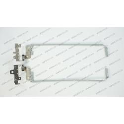 Петли для ноутбука HP 15-AC000 (Pavilion 15-AC000, 15-AC100, 15-AC600, 15-AF100, HP 250 G4, 250 G5) (AM1EM000100 + AM1EM000200) (левая+правая)