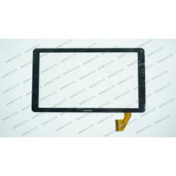 Тачскрин (сенсорное стекло) для HK10DR2767, 10,1, внешний размер 256*148мм, 50 pin, черный