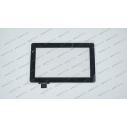 Тачскрин (сенсорное стекло) для Crown B707, YCG-C7.0-0060A-FPC-02, 7, размер 182*113мм, черный