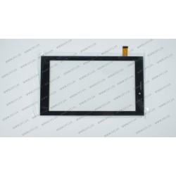 Тачскрин (сенсорное стекло) для MT70326-V1, 7, размер 185*107 мм, черный