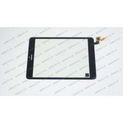 Тачскрин (сенсорное стекло) для Crown B860, 078042-01A-V1, 8, черный