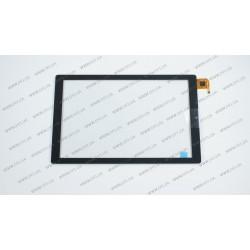 Тачскрин (сенсорное стекло) F-WGJ10216-V2, 10,1, внешний размер 246*155мм, рабочий размер 217*136 мм, 6pin, черный