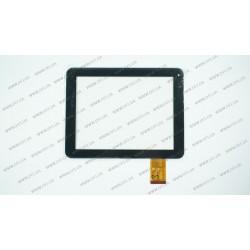 Тачскрин (сенсорное стекло) для Mystery MID-821, OPD-TPC0122, 8, размер 198*152мм, 50 рin, черный