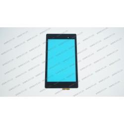 Тачскрин (сенсорное стекло) для Asus MeMO Pad 7, ME572CL ,black