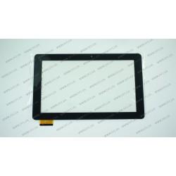 Тачскрин (сенсорное стекло) для HC261159A1 FPC017H V2.0, 10,1, внешний размер 261x159мм, рабочий размер 224*126 мм, 60 pin, черный