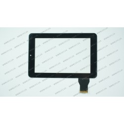 Тачскрин (сенсорное стекло) HLD-GG707S-G-2045A-CP-V00, 7, размер 185x121мм, 40 pin, черный