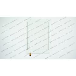 Тачскрин (сенсорное стекло) для Ramos X10 mini PAD, 7,85, внешний размер 196*134 мм, рабочий размер 161*121 мм, 6 pin, белый