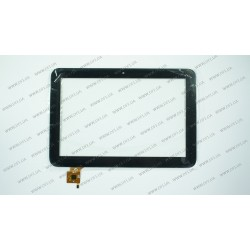 Тачскрин (сенсорное стекло) для Mediacom SmartPad MP101 S2, PB101JG8701, 10,1, размер 253*171 мм, 6 pin, черный