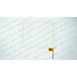 Тачскрин (сенсорное стекло) для Yuandao Window N90FHD, PB97A8585-T970, 9,7, внешний размер 236*183мм, рабочая часть 197*148мм, 12 pin, белый