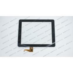Тачскрин (сенсорное стекло) для Teclast A10, PB97SC8020-G2, 9,7, внешний размер 237*184 мм, рабочий размер 198*149 мм, 6 pin, черный