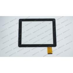 Тачскрин (сенсорное стекло) MT97002-V2, 9,7, внешний размер 236*183 мм, рабочая часть 197*148 мм, черный