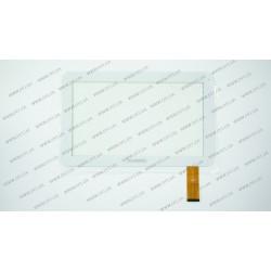 Тачскрин (сенсорное стекло) DH-1010A1-FPC042, 10,1, внешний размер 256*160 мм, рабочий размер 223*126 мм, 40 pin, белый