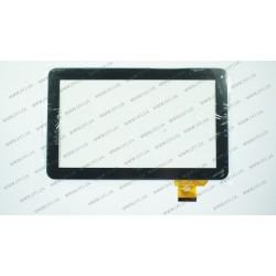 Тачскрин (сенсорное стекло) AP-DH-1006A1-FPC26, 10,1, внешний размер 257*160 мм, рабочий размер 223*125 мм, 50 pin, черный
