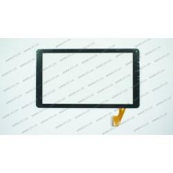Тачскрин (сенсорное стекло) RP-365A-10.1-FPC-A3, 10,1, внешний размер 254*145 мм, рабочий размер 223*126 мм, 50 pin, чёрный