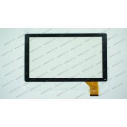 Тачскрин (сенсорное стекло) MF-765-101F, 10,1, внешний размер 251*146 мм, рабочий размер 222*125 мм, 50 pin, черный
