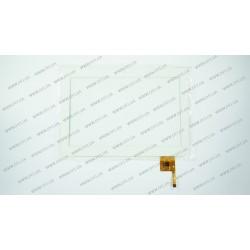 Тачскрин (сенсорное стекло) YTG-P0008-F5 V1.0, 10,1, 12 pin, белый