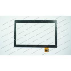 Тачскрин (сенсорное стекло) для Dex IP1020, QSD E-C100028-01-A, 10,1, внешний размер 243*156 мм, рабочий размер 223*125 мм, 8 pin, черный