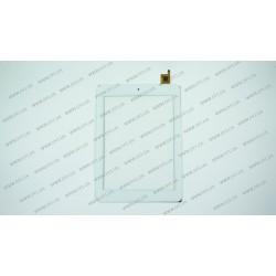 Тачскрин (сенсорное стекло) для Digma IDsQ8, QSD E-C8015-01, 8, внешний размер 203*144 мм, рабочий размер 162*122 мм, белый