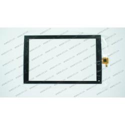 Тачскрин (сенсорное стекло) для PiPo T9, S-890006BD-4U0, 8,9, внешний размер 223*139 мм, рабочий размер 192*121 мм , 8 pin, черный