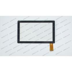 Тачскрин (сенсорное стекло) для RoverPad 3W T74L(GF), HH070FPC-069A, 7, внешний размер 173*105 мм, рабочая часть 153*87 мм, 30 pin, черный