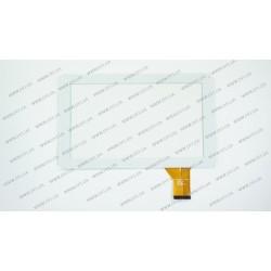 Тачскрин (сенсорное стекло) HN-0902A1-FPC03-02, 9, внешний размер 233*142 мм, рабочая часть 198*112 мм, 50 pin, белый