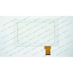 Тачскрин (сенсорное стекло) XC-PG0900-010, 9, размер 233x141мм, 50pin, белый