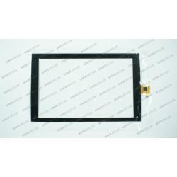 Тачскрин (сенсорное стекло) для PiPo M8 HD, F-WGJ89006-V2, 8,9 , внешний размер 223*139 мм, рабочий размер 192*121 мм, 8 pin, черный