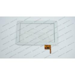 Тачскрин (сенсорное стекло) OPD-TPC0027, 9, размер 233*141 мм, 12 pin, белый, камера с правой стороны