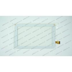 Тачскрин (сенсорное стекло) DH-0933A2-PG-FPC133, 9, внешний размер 234*135 мм, рабочая часть 197*114 мм, 30 pin, белый
