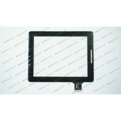Тачскрин (сенсорное стекло) для Onda Vi40, 300-L3611A-A00-V1.0 (ВЕРСИЯ 1 КНОПКИ HOME), 9,7, внешний размер 240*188 мм, внутренний размер 197*148 мм, 50 pin, черный