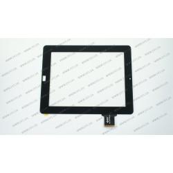 Тачскрин (сенсорное стекло) для Ritmix RMD-1030, 300-L3611A-A00-V1.0 (ВЕРСИЯ 2 КНОПКИ HOME), 9,7, внешний размер 240*188 мм, внутренний размер 197*148 мм, 50 pin, черный