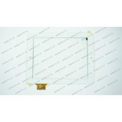 Тачскрин (сенсорное стекло) для Fly Flylife 9.7, 300-L4386C-A00, 9,7, внешний размер 240*185 мм, рабочий размер 198*148 мм, 60 pin, белый
