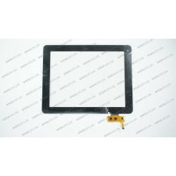 Тачскрин (сенсорное стекло) для 3Q Q-pad BC9710AM, FPCA09700900-000, 9,7, внешний размер 236*183 мм, рабочая часть 198*149 мм, черный