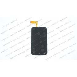 Модуль матрица + тачскрин для HTC Desire U, black
