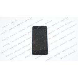 Модуль матрица+тачскрин для Microsoft Lumia 430 DS (Nokia), black
