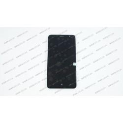 Модуль матрица+тачскрин для Nokia Lumia 1320, black