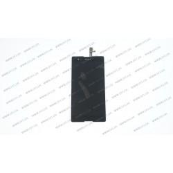 Модуль матрица+тачскрин для Sony Xperia T2 Ultra Dual D5322, black
